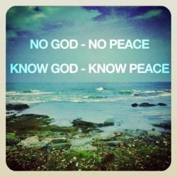Know God Know Peace